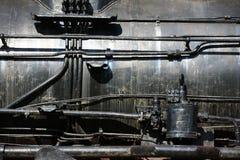 Sich fortbewegender Motor des Dampfs Stockfoto