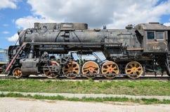 Sich fortbewegendes Cl L ursprünglich O der Dampfmaschine, produziert in 4199 Einheiten durch Kolomna 1945-1955 stockbilder