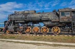 Sich fortbewegendes Cl L ursprünglich O der Dampfmaschine, produziert in 4199 Einheiten durch Kolomna 1945-1955, angezeigt am tec lizenzfreie stockbilder