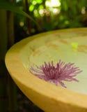 Sich hin- und herbewegende Blume Stockfoto