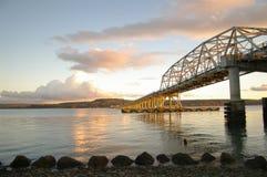 Sich hin- und herbewegende Brücke Stockbilder