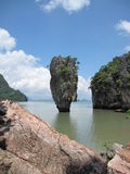 Sich hin- und herbewegende Insel Lizenzfreie Stockfotos
