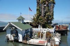 Sich hin- und herbewegende Insel San Francisco Stockbilder