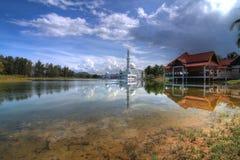 Sich hin- und herbewegende Moschee Lizenzfreies Stockfoto