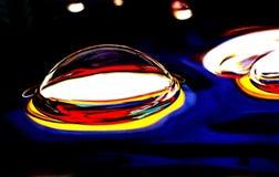 Sich hin- und herbewegender Luftblasen-Hintergrund Lizenzfreie Stockfotografie