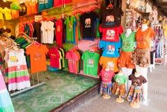 Sich hin- und herbewegender Markt Ayothaya Stockfoto