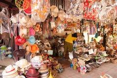 Sich hin- und herbewegender Markt Ayothaya Lizenzfreies Stockfoto