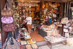 Sich hin- und herbewegender Markt Ayothaya Lizenzfreie Stockfotos