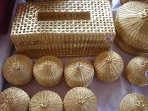 Sich hin- und herbewegender Markt in Thailand lizenzfreies stockfoto