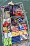 Sich hin- und herbewegender Markt, Vietnam Lizenzfreie Stockfotografie