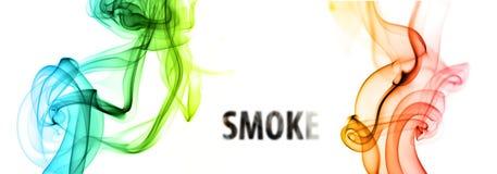 Sich hin- und herbewegender Rauch Lizenzfreie Stockbilder