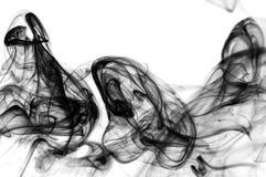 Sich hin- und herbewegender Rauch Lizenzfreies Stockfoto