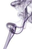 Sich hin- und herbewegender Rauch Lizenzfreie Stockfotos