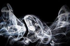 Sich hin- und herbewegender Rauch Stockbilder