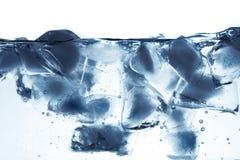 Sich hin- und herbewegendes Eis stockbild