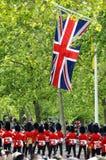 Sich sammeln die Farbe, London 2012 Stockbild