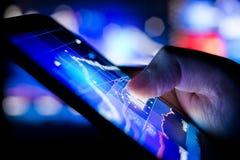 Sich schnell bewegende Wirtschaft Lizenzfreies Stockfoto