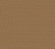 Sich wiederholende vierflächige Zahl des braunen Sandes der Beschaffenheit Stockfotos