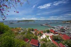 Sichang海岛看法  库存图片