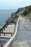 Sichang de la roca de la costa de los acantilados Fotos de archivo