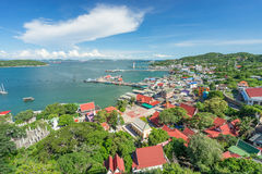 Sichang island city, Chonburi province Stock Photography