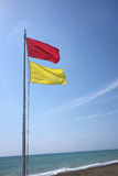 Sichere Badenflagge Lizenzfreies Stockbild