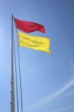 Sichere Badenflagge Stockbild