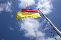 Sichere Badenflagge Lizenzfreies Stockfoto
