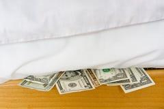 Sicherer Ort für Geld lizenzfreie stockfotos