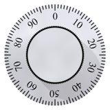 Sicherer Vorwahlknopf vektor abbildung