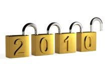 Sicheres neues Jahr Stockfotografie