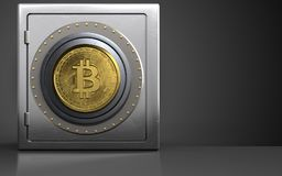 sicheres Safe 3d Lizenzfreies Stockfoto