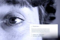 Sicherheit - abgleichende Identität Stockfotos