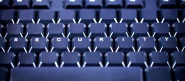 Sicherheit am Arbeitsplatz - Tastatur Stockfotos
