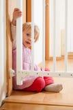 Sicherheit des Babys Stockfoto