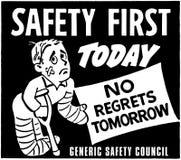 Sicherheit erste Lizenzfreies Stockbild