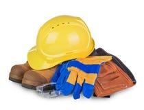 Sicherheit industriell und Baugeräte lizenzfreies stockbild