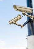 Sicherheit Kamera-cctv Lizenzfreies Stockbild