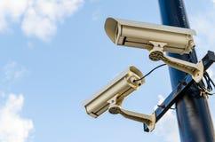 Sicherheit Kamera-cctv Lizenzfreies Stockfoto