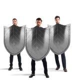 Sicherheit und Schutz im Geschäft Lizenzfreie Stockbilder
