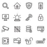 Sicherheit und Schutze Lizenzfreie Stockfotos