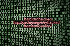 Sicherheit zerhackt Lizenzfreie Stockfotografie