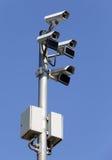 Sicherheitsüberwachungskameras Lizenzfreies Stockbild