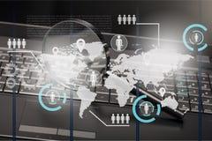 Sicherheits-Überwachung Lizenzfreie Stockbilder