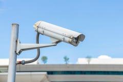Sicherheits-Überwachungskamera und städtisches Video, elektronisches Gerät Lizenzfreie Stockfotografie