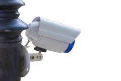 Sicherheits-Überwachungskamera und städtisches Video, elektronisches Gerät Lizenzfreies Stockfoto