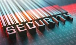 Sicherheits-Barcode-Zugang Lizenzfreies Stockbild
