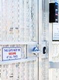 Sicherheits-Gatter Lizenzfreies Stockbild