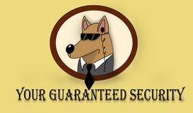 Sicherheits-Hund Stockfotografie