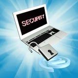 Sicherheits-Internet Stockfoto